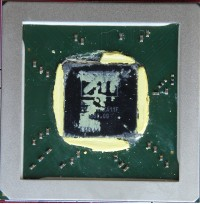 ATI R350 GPU